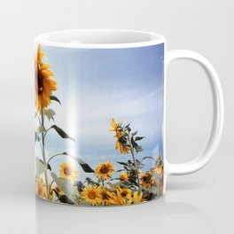 Sunflower Photograph Coffee Mug