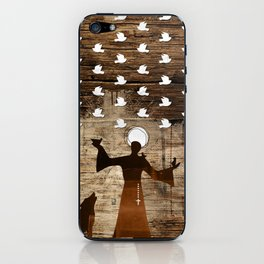 Saint Francis of Assisi iPhone Skin