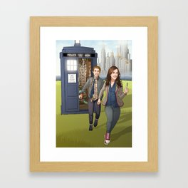 Fitzsimmons - Running Through Time and Space Framed Art Print