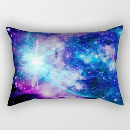 galaxy Nebula Star Rectangular Pillow