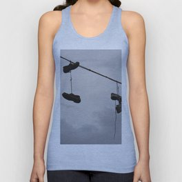 Shoes In The Air Unisex Tank Top