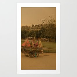 Toy Boats Art Print