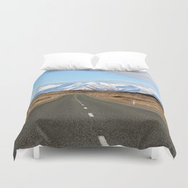 White Cap Journey Duvet Cover