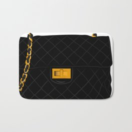 The quilted bag Bath Mat