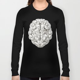 Puzzle brain GINGER / Your brain on puzzles Long Sleeve T-shirt