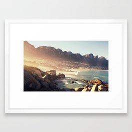Cape Town Sunrise Framed Art Print