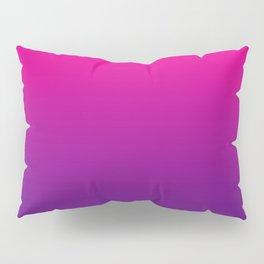 Neon Pink Purple Ultra Violet Pattern Pillow Sham