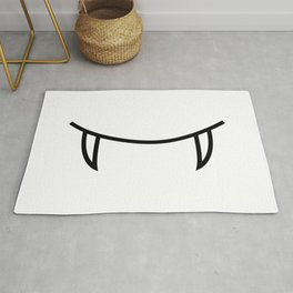Smile 3 Dracula Rug