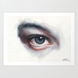Watercolor Study 10 Art Print