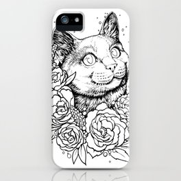 Color-Me Feline: English Short Hair iPhone Case