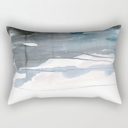 dissolving blues 2 Rectangular Pillow