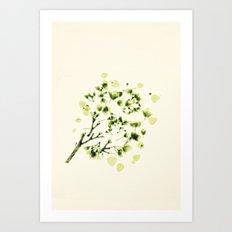 Green tickles - Botanical Print Art Print