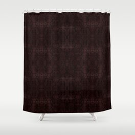 Medieval Antique Red Damask Shower Curtain