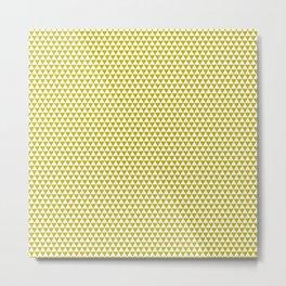 Skandy Mustard T Metal Print