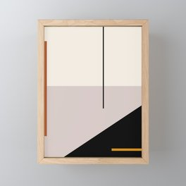 abstract minimal 28 Framed Mini Art Print