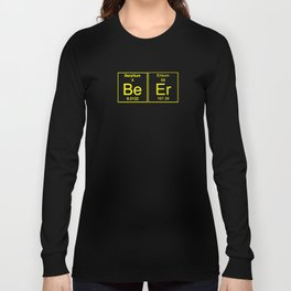 Funny Teachers Assistant Design Beer Yellow Long Sleeve T-shirt