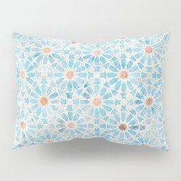 Hara Tiles Light Blue Pillow Sham