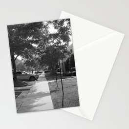 A long path Stationery Cards