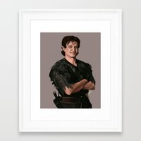 robin williams Framed Art Prints featuring Robin Williams by MagnoliaRuby