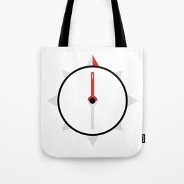 My Compass Points to Adventure Tote Bag