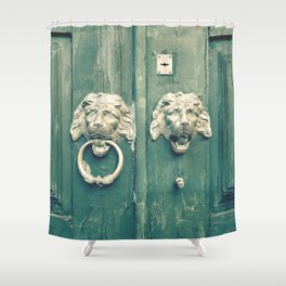 Be Bold Enough To Knock Shower Curtain