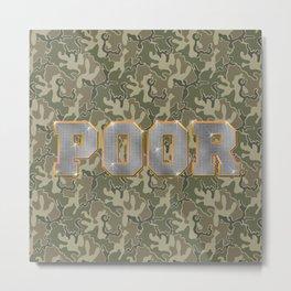 Hood Rich Metal Print