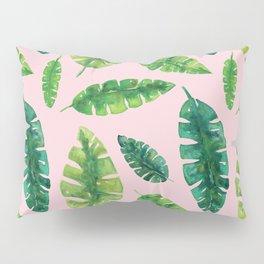 Banana Leaf Pattern Pillow Sham
