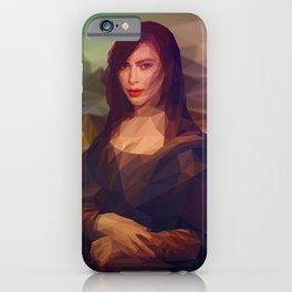 La Gioconda / Kim Kardashian / Mona Lisa iPhone Case
