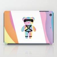 bondage iPad Cases featuring Classic Rainbow Bondage Bear Full by YOSH FRIDAY