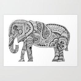 Elephantasy Art Print