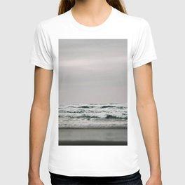 Waves Crashing on Cannon Beach Oregon T-shirt