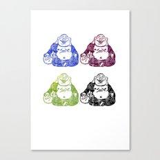 CMYK BUDDHA Canvas Print