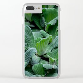 SEAWEED Clear iPhone Case