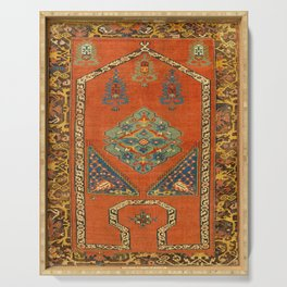 "16-17th Century ""Bellini"" Turkish Textile Serving Tray"
