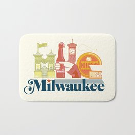 MKE ~ Milwaukee, WI Bath Mat