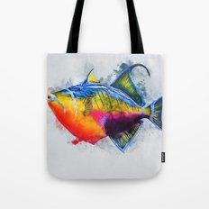 Trigger Fish Tote Bag