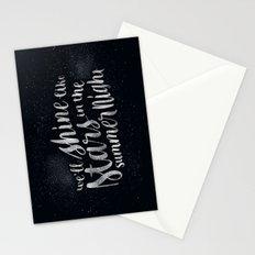 Shine Like Stars - Summer Stationery Cards