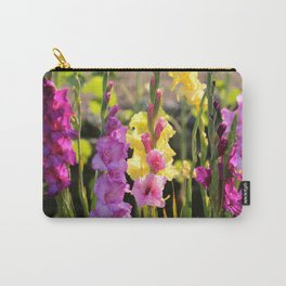 Multi-Colored Gladiolus Carry-All Pouch