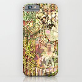 Jeune fille de joie usine (Factory girl joy) iPhone Case