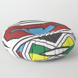 Ndebele Print Floor Pillow