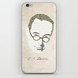C.S. Lewis iPhone Skin