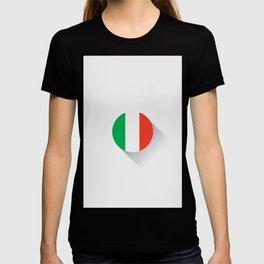 Minimal Italy Flag T-shirt