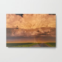 Dust Storm Metal Print