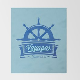 Voyager Throw Blanket