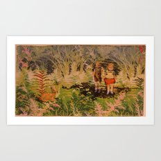 Lost Companions Art Print