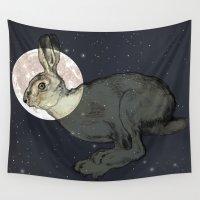 interstellar Wall Tapestries featuring Interstellar by Shany Atzmon