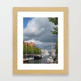 Kobenhavn Framed Art Print