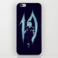 messi iPhone & iPod Skins featuring Messi by Andres Moncayo