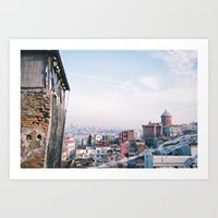 istanbul Art Prints featuring Istanbul by Didi Jean