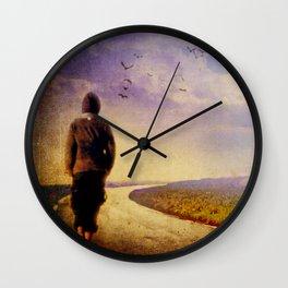 Between Mind & Heart Wall Clock
